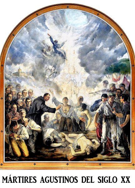 Mártires agustinos del siglo XX